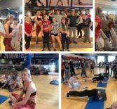 Тренировочное занятие в спортивном комплексе «Альбатрос»