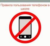 Анкетирование школьников, родителей учителей по вопросам использования мобильного телефона